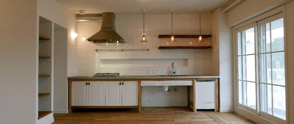 キッチン | [SHIROGANE-B] | FIELD LABO