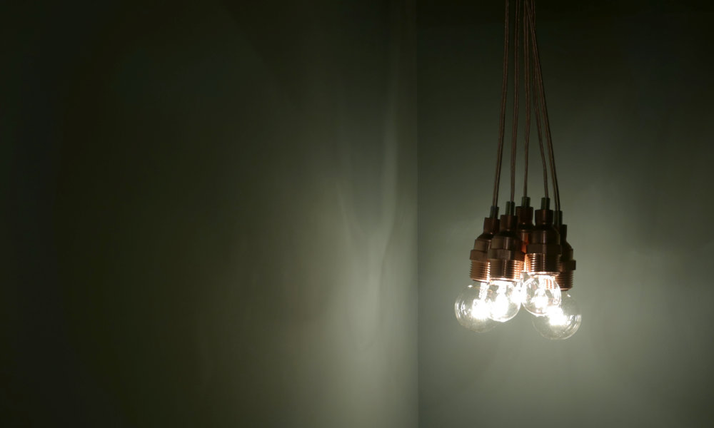 Light bulb pendant lamp copper field labo mozeypictures Choice Image