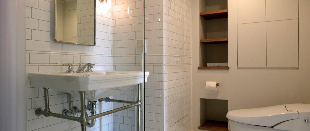 Sanitary & Toilet | サニタリー・トイレ | [SHIROGANE-B]