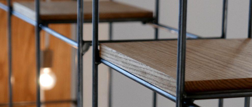 Steel Shelf | 特注スチール棚 | [SHIROGANE-B]
