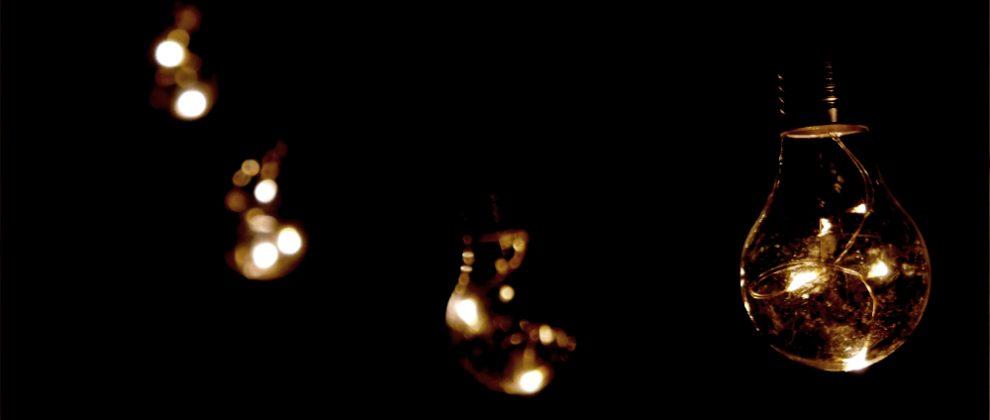 電球型イルミネーション照明